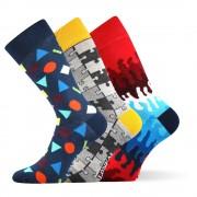 Woodoo MixD divatos zokni 3 pár egy csomagban