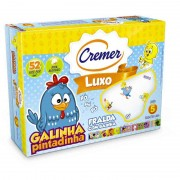 Fralda Cremer Luxo Galinha Pintadinha c/ 5 Un