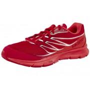 Salomon Sense Link Hardloopschoenen Dames rood 2015 Hardloopschoenen