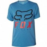 FOX Camiseta Fox Heritage Forger Tech Heather Blue