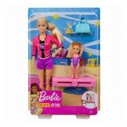 Papusa Barbie, cariera in sport antrenoare de gimnastica