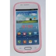 Силиконов гръб ТПУ за Samsung I8190 Galaxy S III mini Розов
