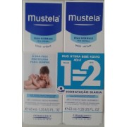 Mustela Creme Hydra Bebé de Rosto 40ml ( Oferta Pague 1 Leve 2)
