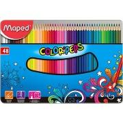 Maped COLOR`PEPS színes ceruza készlet, 48 db/doboz