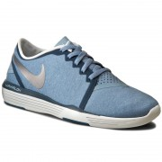 Обувки NIKE - Lunar Sculpt 818062 405 Blue Grey/Metallic Silver