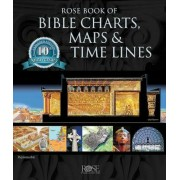 Rose Book of Bible Charts, Maps, and Time Lines: Full-Color Bible Charts, Illustrations of the Tabernacle, Temple, and High Priest, Then and Now Bible, Hardcover