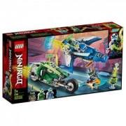 Конструктор Лего Нинджаго - Състезателните коли на Jay и Lloyd - LEGO NINJAGO, 71709