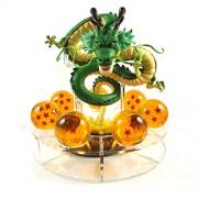Dragon Ball Z 15cm Shenron figure and 7 Dragon Balls 3.5cm diameter set