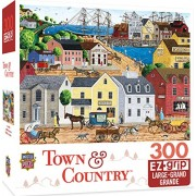 "MasterPieces PuzzleCompany Town & Country Home Port Puzzle (300 Piece), Multicolored, 18"" x 24"""