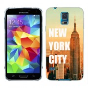 Husa Samsung Galaxy S5 Mini G800F Silicon Gel Tpu Model New York