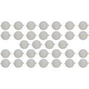 Bene LED 12w Round Slim Panel Ceiling Light Color of LED White (Pack of 32 Pcs)