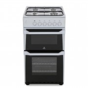 Indesit IT50GW Gas Cooker Separate Grill - White