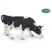 Vaca alb cu negru pascand - Figurina Papo