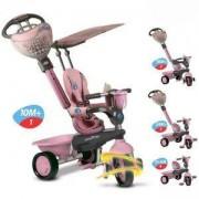 Детска Триколка 4 в 1 Dream розова, Smar Trike, 1593200
