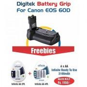 Digitek Battery Grip Canon 60D