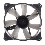 120mm JetFlo 120 White LED ventilator Cooler Master R4-JFDP-20PW-R1
