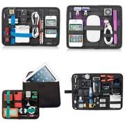 Home Basics Grid It Electronics Cosmetics Tool Organizer Bag Pouch Ipad Table