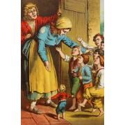 Puzzle Grafika Kids - Carl Offterdinger: Hansel and Gretel, illustration, 100 piese (49376)