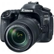 Digitalni foto-aparat Canon EOS 80D, Set (Sa EF-S 18-135 IS nano USM), Crna