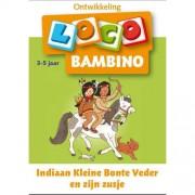 Loco Bambino: Indiaan Kleine Bonte Veder en zijn zusje 3-5 jaar