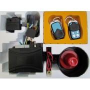 Alarma auto cu 2 telecomenzi, fara pager S02 - 063