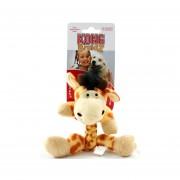 Peluche para Gato Giraffe Kong Braidz - Amarillo con Café