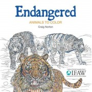 Endangered: Animals to Color, Paperback