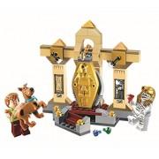 Scooby-Doo Mummy Museum Story Building Block Model Kits 109pcs