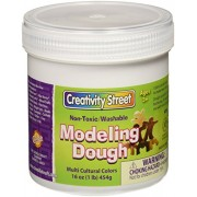 School Smart Modeling Dough - Set of 6 - Multicultural Colors
