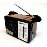 Radio Leotec LT-616 cu 4 benzi radio,alimentare 220v si baterii