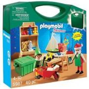 PLAYMOBIL Santas Workshop Carrying Case Playset