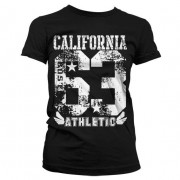 California 63 Athletic Girly T-Shirt