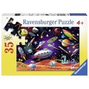 PUZZLE SPATIU, 35 PIESE - RAVENSBURGER (RVSPC08782)