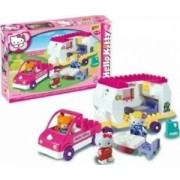 Set constructie Unico Plus Hello Kitty Rulota
