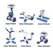 Csl 6 - In - 1 Educational Diy Solar Powered Kit - Science Education Toys For Kids Children