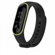 Curea silicon Tech-Protect Smooth Xiaomi Mi Band 3/4 Black/Yellow