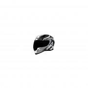 Shiro SH-881 Motegi Casco Negro/Blanco S (55/56)
