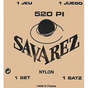 Savarez 520P1 Traditional Classical Guitar Strings High Tension Red Card
