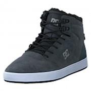 DC Shoes Crisis High Wnt Charcoal/grey, Shoes, svart, EU 44