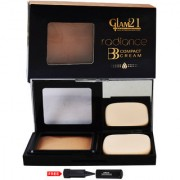 Glam21 BB Compact Cream Foundation-CP7001-02 With Adbeni Kajal Worth Rs.125/