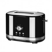 Grille-pain à contrôle manuel Noir 5KMT2116EOB Kitchenaid