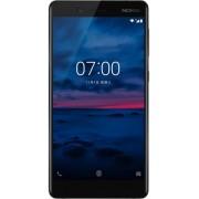 "Telefon Mobil Nokia 7, Procesor Octa-Core 2.2GHz, IPS LCD Capacitive touchscreen 5.2"", 6GB RAM, 64GB Flash, 16 MP, 4G, WI-FI, Dual Sim, Android (Negru) + Cartela SIM Orange PrePay, 6 euro credit, 4 GB internet 4G, 2,000 minute nationale si internationale"