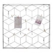Maisons du Monde GRAPHIK grey metal photo montage frame