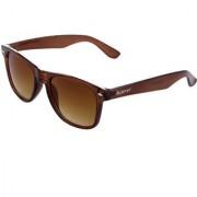 The Blue Pink UV Protected Wayfarer Unisex Sunglasses (WEG-0202Brown Lens)