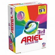 Ariel detergent capsule 3in1 PODS Color&Style 81*27ml