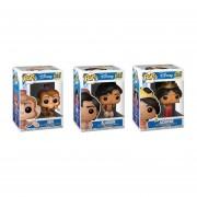 Set 3 Piezas Aladdin, Jasmine Y Abu Funko Pop Pelicula Disney Aladdin Princesa 2018 Aladin