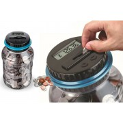 Hangzhou Yuxi Trade Co. Ltd (t/a PinkPree) £12.99 instead of £39.99 for a digital money counting jar from PinkPree - save 68%