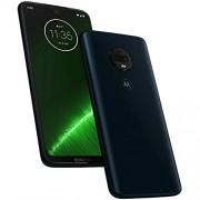 Motorola Moto G7+ Plus- Teléfono celular inteligente, 64 GB, 4 GB de RAM, SIM dual de 6.2 pulgadas, 4G LTE (sólo GSM) desbloqueado de fábrica, modelo internacional XT1965-2, 64 GB, ndigo profundo