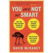 You Are Not So Smart: Why You Have Too Many Friends on Facebook, Why Your Memory Is Mostly Fiction, and 46 Other Ways You're Deluding Yourse, Paperback