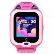 Ceas Inteligent pentru copii WONLEX KT22 4G Roz, cu GPS, apelare video, rezistent la apa, localizare WiFI si monitorizare spion - Copie